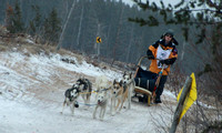 Tahquamanon Sled Dog Race2012